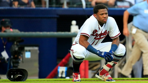 Social media reacts: Ronald Acuña injured by intentional hit by pitch