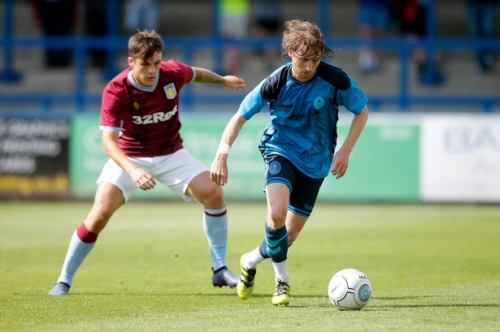 Aston Villa defender leaves on a season-long loan