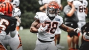 Bengals RB Joe Mixon returns to practice after injury scare on Wednesday
