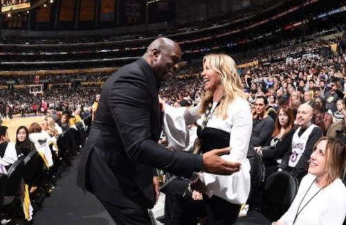 Lakers News: Jeanie Buss Praises Magic Johnson, Rob Pelinka For Exceeding Her 'Expectations'