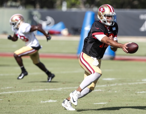 Top 10 highlights from 49ers final camp practice against Texans