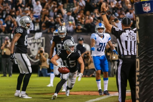 Raiders end camp with a hoard of wide receivers hovering around the roster bubble