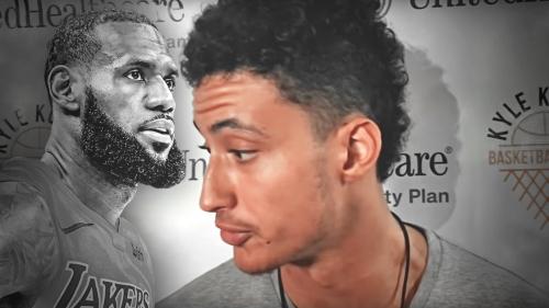 Lakers' Kyle Kuzma says LeBron James beating young players to gym