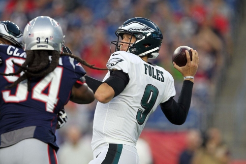 Nick Foles gets hurt in Eagles second preseason game