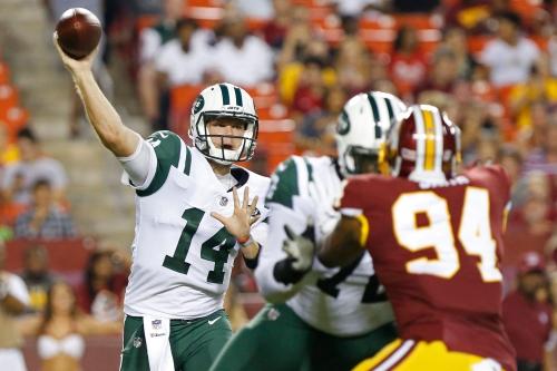 Sam Darnold's first Jets' preseason start leaves Twitter buzzing