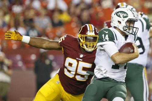NFL Preseason: Washington Redskins vs New York Jets 2nd Half