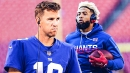 Giants WR Odell Beckham Jr. reacts to Jalen Ramsey's criticism of Eli Manning