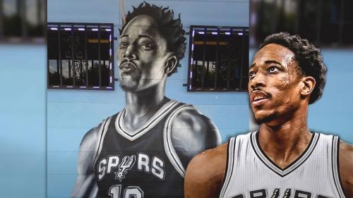 DeMar DeRozan gets a mural in San Antonio
