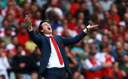 Unai Emery demands Arsenal stars lose fat and work harder during matches