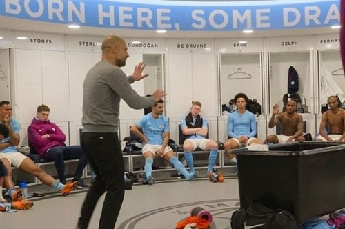 Manchester United players sent Man City dressing room into meltdown