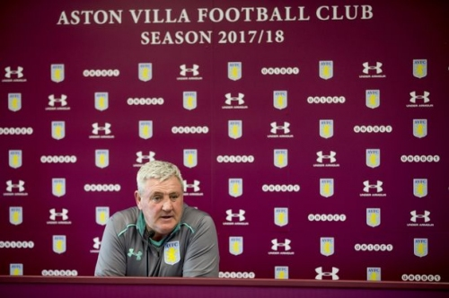 Watch Steve Bruce's Aston Villa press conference live ahead of Ipswich trip