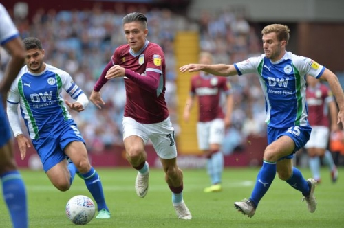 Steve Bruce has offered this update on Aston Villa's contract talks with Jack Grealish