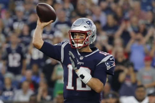 Patriots vs Eagles: Watch every Tom Brady throw from his preseason debut