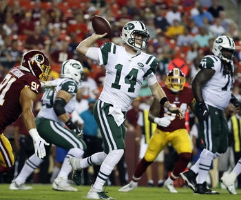 Jets' Darnold looks like rookie in 15-13 loss to Redskins