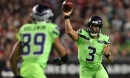 Seahawks QB Russell Wilson believes Seattle's offensive line has improved