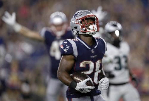 James White set to be a reliable, stabilizing force for New England Patriots offense once again