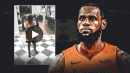 LeBron James' hilarious night in with Bronny James, Bryce James, and Zhuri James