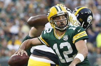 Aaron Rodgers throws TD pass in Packers' preseason win over Steelers