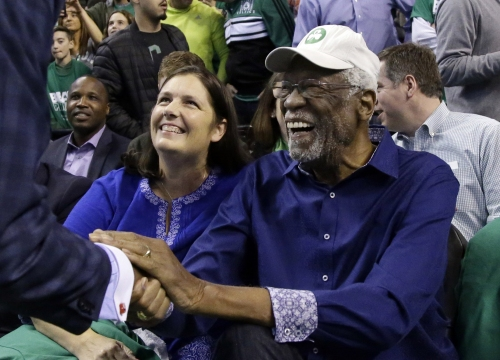 Bill Russell can't quite figure out what Jaylen Brown's Twitter handle means