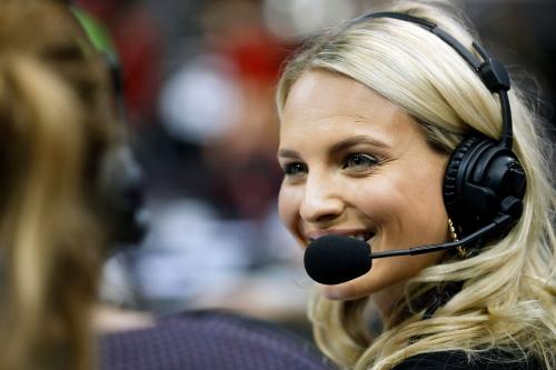 Bucks new sideline reporter Katie George was star volleyball player, Miss Kentucky