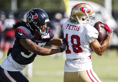 49ers vs. Texans: What to watch in Saturday's exhibition
