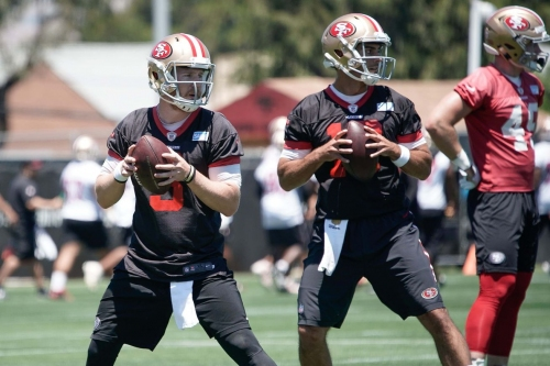 Shanahan: QB is probably only position we pretty much know our 1st and 2nd string