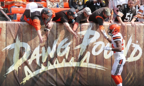No more PDFs: Browns, NFL go all in on mobile ticketing