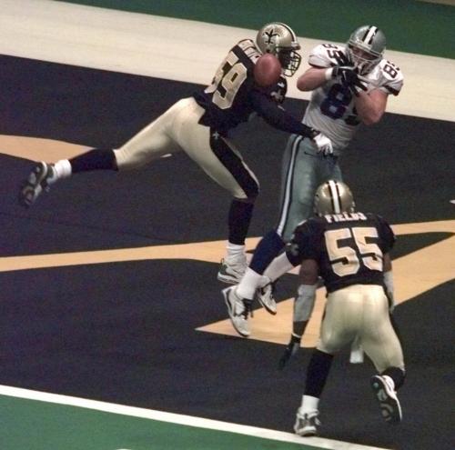 Former Saints linebacker Keith Mitchell says how yoga saved his life