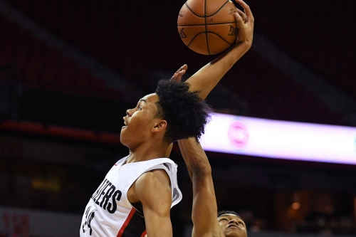 Watch McCollum, Anfernee Simons Work Out with Carmelo and Friends
