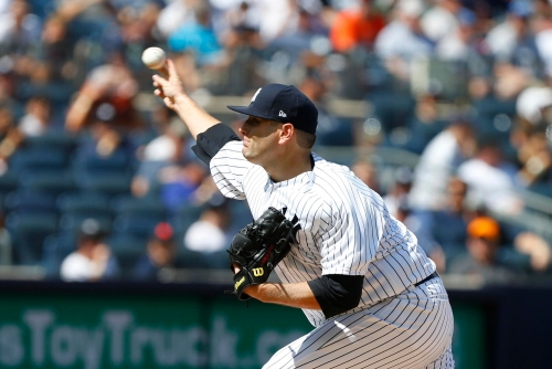 New York Yankees announce lineup for Friday's Blue Jays game