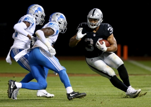 Raiders' Chris Warren hopes to fit Gruden's big back mold