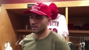 Cincinnati Reds star Joey Votto talks about going on the disabled list
