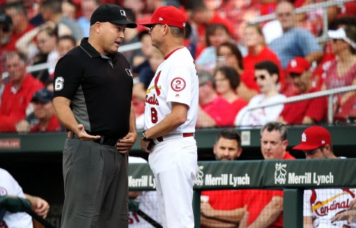 Just another game for Shildt as Cardinals, Brewers square off in key series