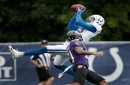 Colts observations: Rain slows practice, but Colts and Ravens play on