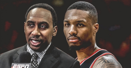 Blazers rumors: Stephen A. Smith says Damian Lillard loves Portland, but wouldn't mind Lakers or Knicks