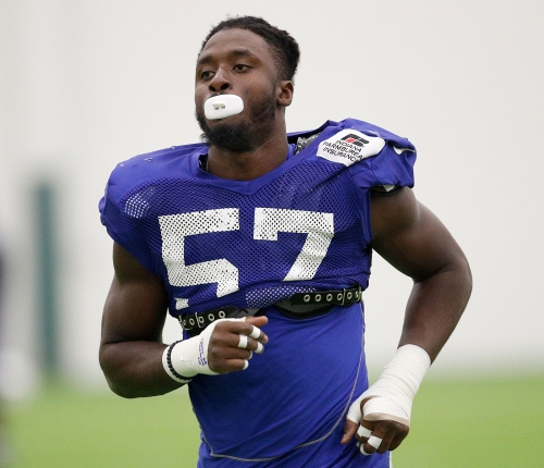 Colts rookie DE Kemoko Turay, No. 1 on depth chart, joins first real practice