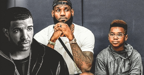 WATCH: LeBron James catches son Bryce rapping to Drake