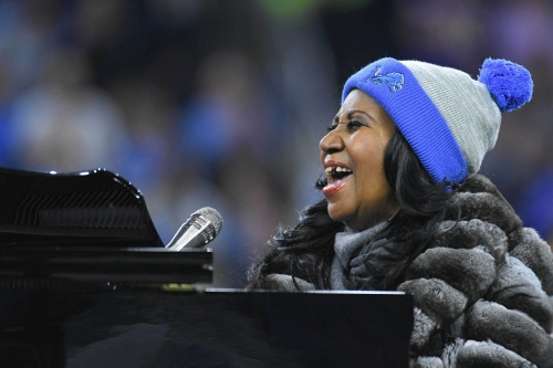Detroit Lions honor Aretha Franklin before preseason game at Ford Field