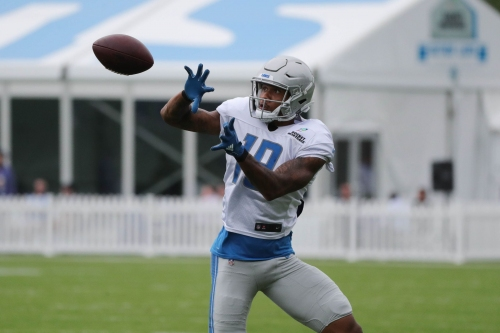 Lions-Giants observations: Is Kenny Golladay Lions' No. 2 receiver