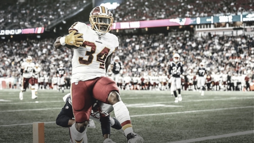 Redskins RB Byron Marshall expected to miss 2-4 weeks with ankle injury