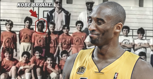 At age 12, Kobe Bryant was playing grown men in Italy