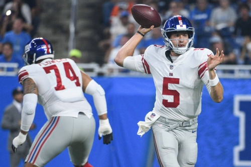 Giants-Lions: Winners and losers in the Giants' position battles