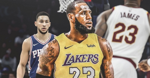 Sixers news: Ben Simmons 'already knew' ex-Cavs' LeBron James would pick Lakers