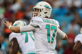 Preseason: Dolphins fall to Panthers 27-20, Ryan Tannehill solid without key wide receivers