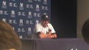 Yankees manager Aaron Boone on Lance Lynn's start in rain-shortened win.
