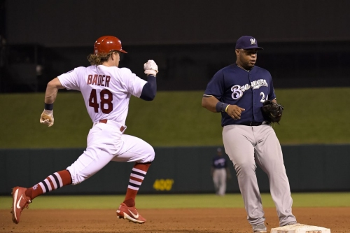 Cards lead start to finish, top Brewers 5-2