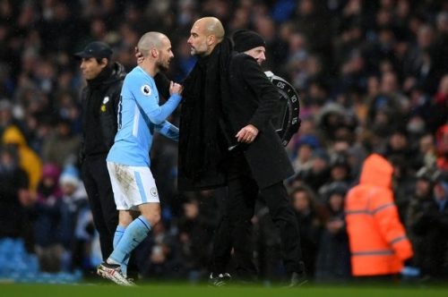 David Silva was not pressured into Spain retirement by Man City says Pep Guardiola