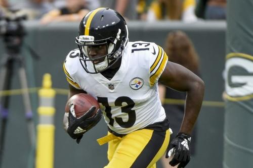 James Washington's performance against Packers belies his rookie status