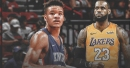 Kevin Knox was ecstatic when he learned LeBron James left the East