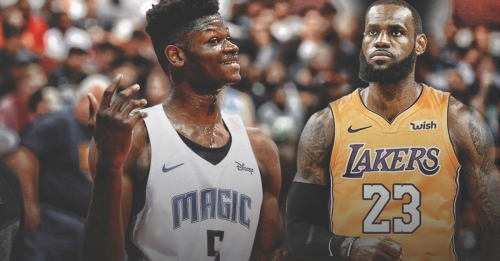 Mo Bamba names LeBron James as the player he's looking forward to face
